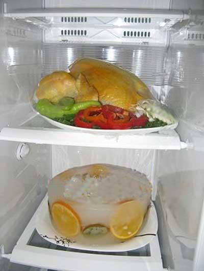 عکس تزیین یخچال عروس جدید
