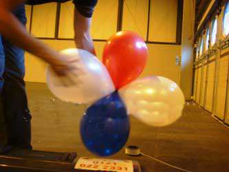 عکس, آموزش تصویری تزیین ورودی اتاق جشن تولد با بادکنک