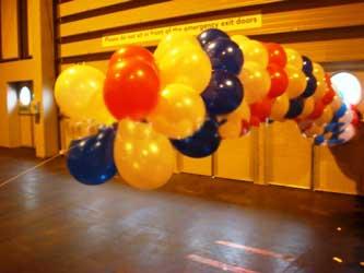 image آموزش تصویری تزیین ورودی اتاق جشن تولد با بادکنک