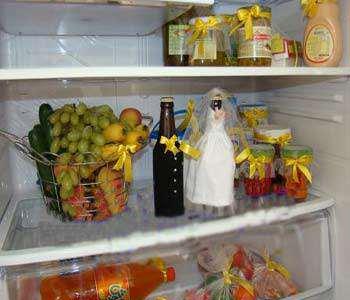 image, مدل های زیبا و جالب تزیین یخچال تازه عروس
