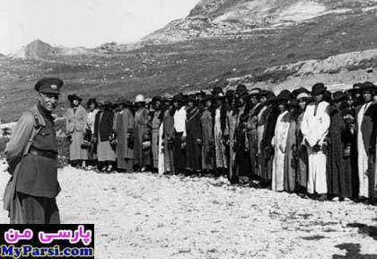 image تصاویر تاسف انگیز کشف حجاب زنان به زور توسط رضا خان