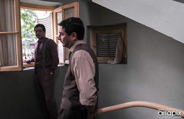 image, چند عکس دیدنی از پشت صحنه سریال مرد ناتمام