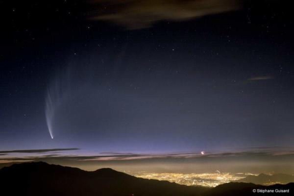 image عکسی بی نظیر از ستاره دنباله دار مک نات سال ۲۰۰۷