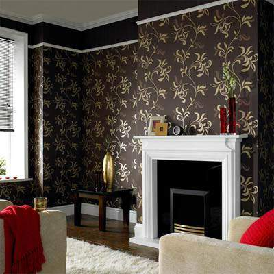 image مدل های  کاغذ دیواری های شیک برای طراحی خانه