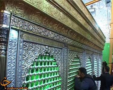 image گزارش تصویری از تعویض حرم امام حسین علیه السلام در کربلا