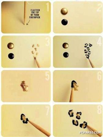 image آموزش عکس به عکس طراحی ناخن جدید