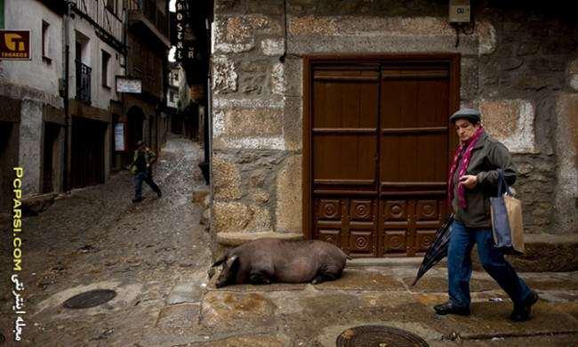 image, روستای لا آلبرکا در اسپانیا