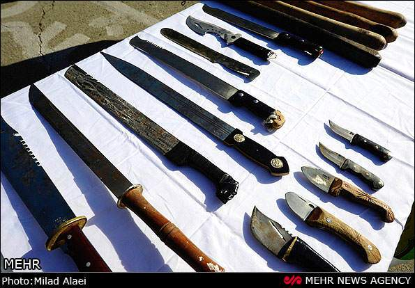 image گزارش تصویری از جمع آوری زورگیر ها و اراذل شهر کرج بهمن ۹۱