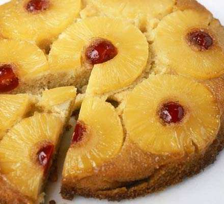 image آموزش پخت کیک آناناس برای جشن تولدها