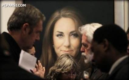 image عکس های تابلوی گراقیمت کیت مدیلتون عروس ملکه بریتانیا