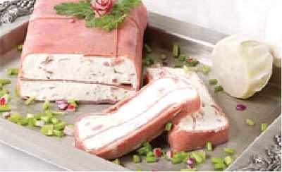 image طرز تهیه رولت ژامبون پنیری عصرانه کودکان