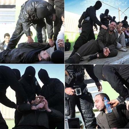 image گزارش تصویری از سعید گدا سر دسته اراذل شهر ری