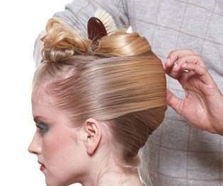 image آموزش عکس به عکس مدل موی شینیون جدید حلزونی