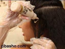 عکس, آموزش تصویری و کامل کراتینه کردن موی خانم ها در منزل