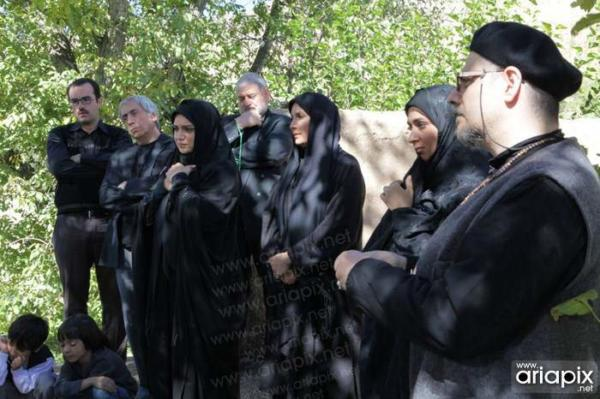 image, تصاویر زیبا از پشت صحنه سریال یلدا