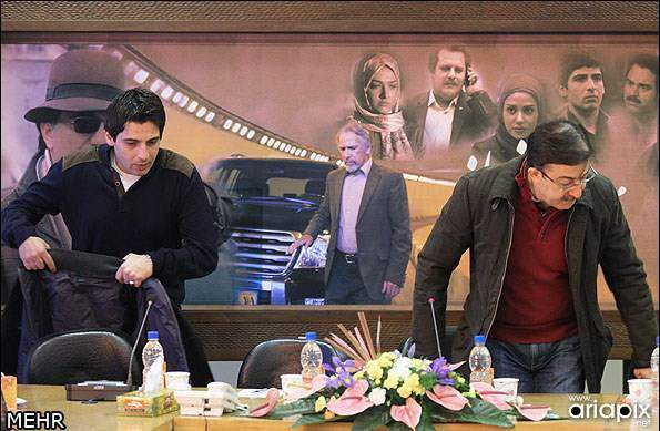 image, تصاویر بازیگران سریال زمانه در نشست نقد و بررسی آن