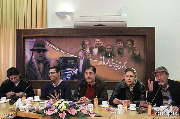image تصاویر بازیگران سریال زمانه در نشست نقد و بررسی آن