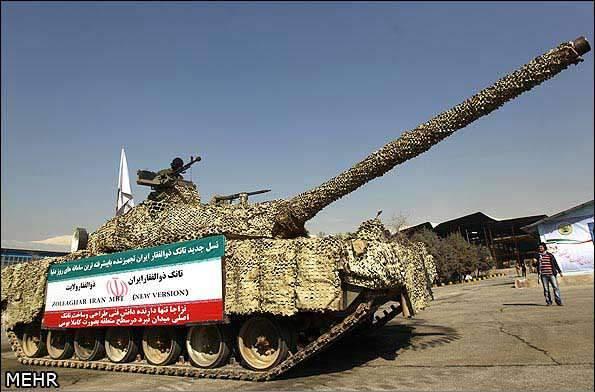 image عکس های دو تانک جدید ایرانی ذوالفقار و صمصام بهمن