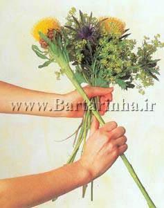 image, آموزش عکس به عکس ساخت دسته گل عروس