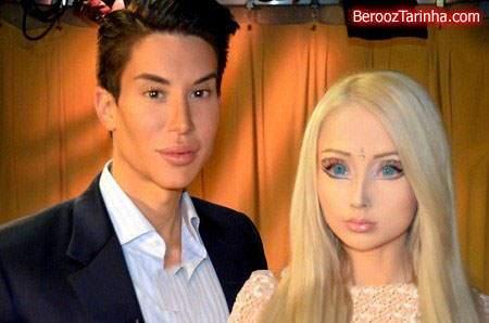 image عکس های دیدنی مرد باربی همراه با زن باربی