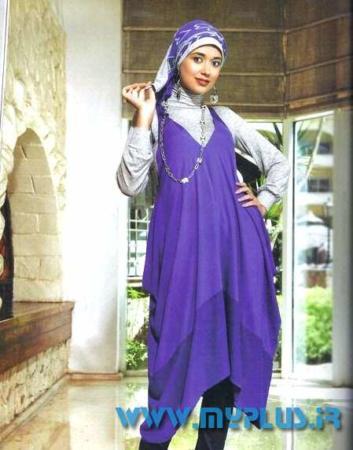image مدل های لباس زیبا و شیک کاملا امروزی و اسلامی