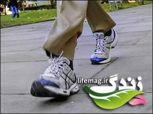 image ۵ دقیقه پیاده روی کنید ۱ کیلو لاغر شود