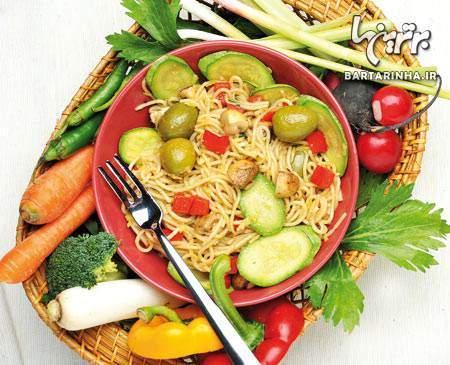 image طرز تهیه غذای ایتالیایی اسپاگتی تورینو