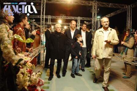 image حمید فرخ نژاد بهترین بازیگر مرد جشنواره  در فیلم استرداد