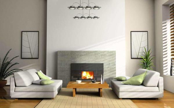 image جدیدترین مدل شومینه  دیواری