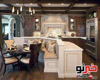 image مدل های جدید کابینت شیک و مدرن برای آشپزخانه