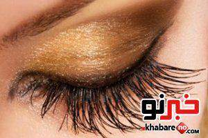 image درشت نشان دادن چشم های خیلی ریز با آرایش مخصوص