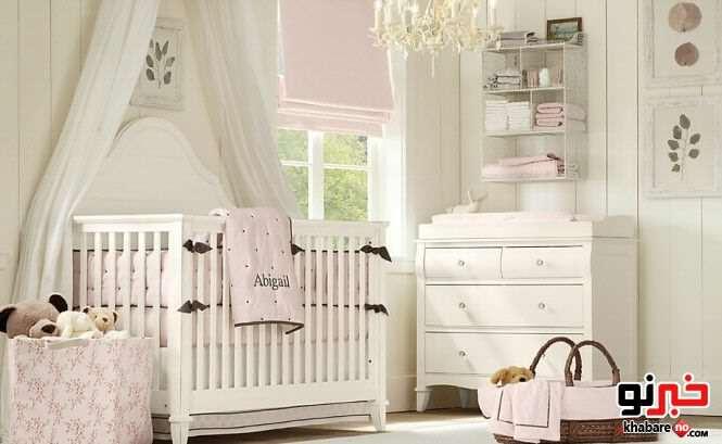 image آموزش نحوه چیدمان اتاق نوزاد و کودک