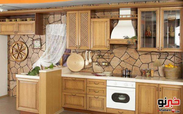 image راهنمای چیدمان ساده و شیک آشپزخانه برای عروس های جوان