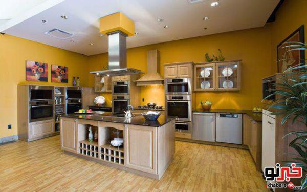 image, راهنمای چیدمان ساده و شیک آشپزخانه برای عروس های جوان