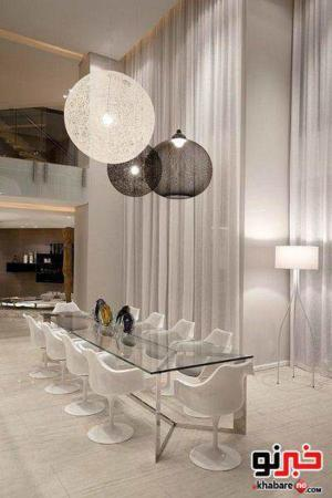 image, ایده های جالب برای طراحی اتاق غذا خوری