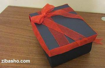 image آموزش تصویری نحوه ساخت جعبه های زیبای کادو