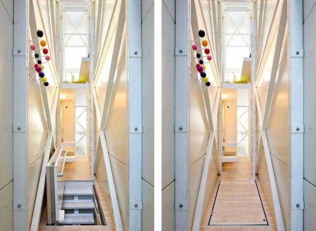 image عکس های جالب کوچکترین خانه در دنیا برای زندگی