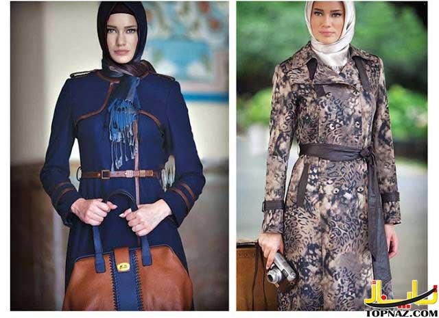 image مدل های جدید مانتو سبز زمزد دخترانه برای بهار