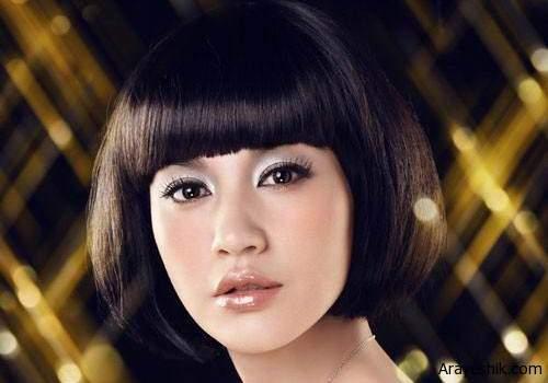 image عکس زیباترین مدل های موی کوتاه برای خانم ها