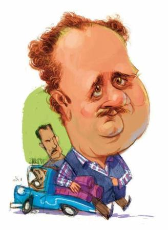 image یک کاریکاتور دیدنی و بامزه از بازیگر محبوب هومن برق نورد
