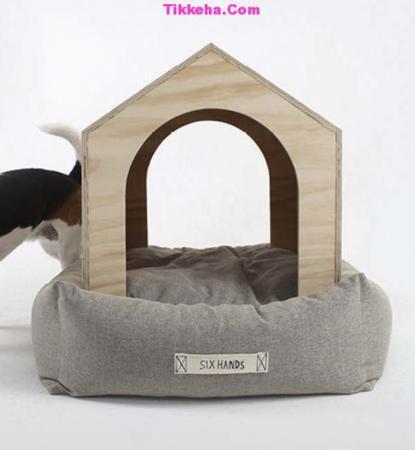 image مدل های زیبای طراحی خانه های مدرن برای سگ ها
