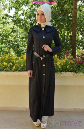 image, مدل های زیبا و جدید مانتوی اسلامی پاییزی ۱۳۹۲