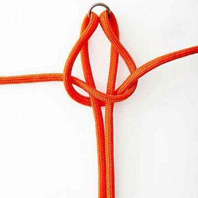 image آموزش تصویری بافت و ساخت دستبند شیک گره ای