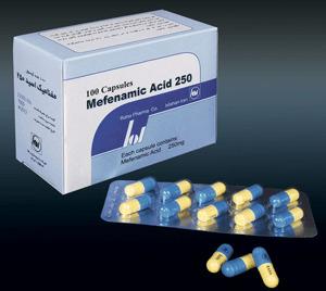 image کپسول مفنامیک اسید عوارض جانبی موارد مصرف و منع دارویی