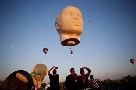 image عکس زیبا از جشنواره بین المللی بالون
