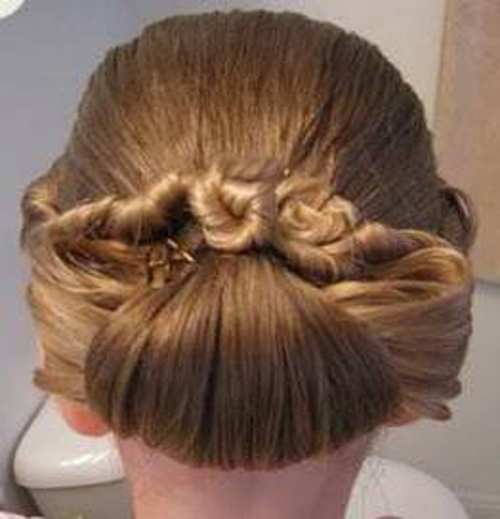 image, آموزش تصویری و جامع درست کردن موی زنانه مدل شینیون بوکل و پیچ