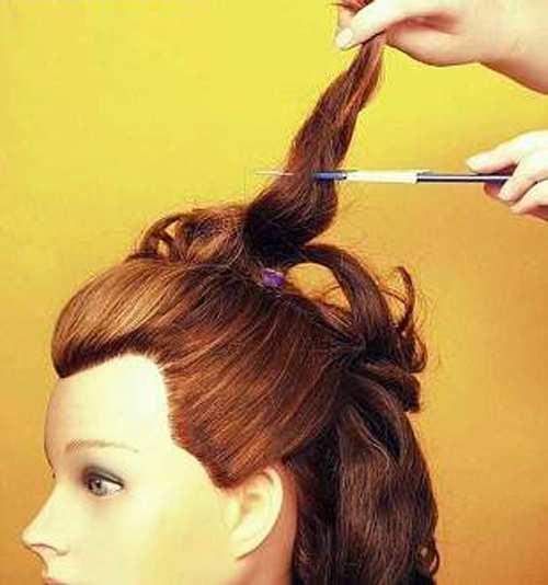 image, آموزش تصویری و کامل درست کردن شینیون عروس