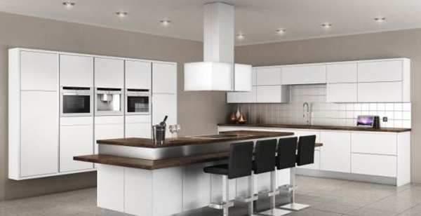 image, عکس ها و مدل های جدید کابینت های هایگلاس برای آشپزخانه
