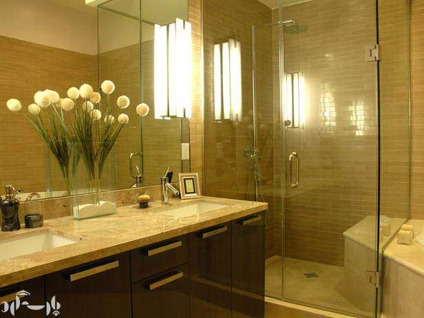 image چطور یک حمام کوچک را شیک و دکور کنیم همراه با عکس