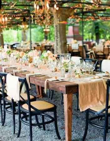 image, آموزش تصویری چیدن میز غذای عروسی جدید